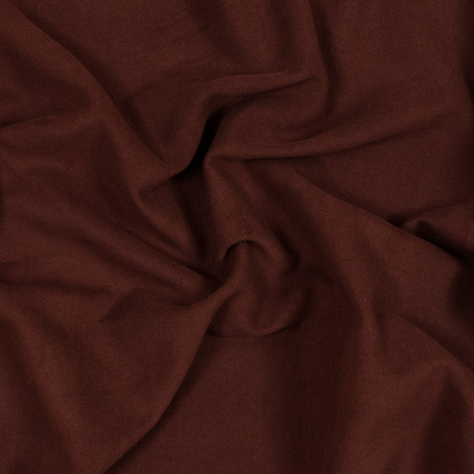 italian rust brushed cotton twill 318975 11