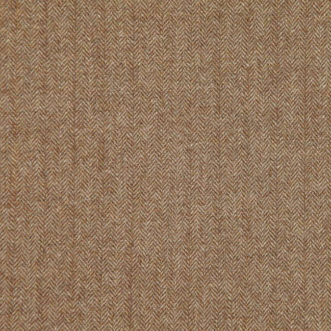 italian tan beige herringbone wool blend suiting fw11149 11