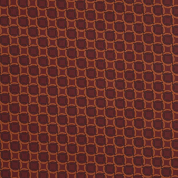 italian terracotta geometric stretch polyester 317464 11