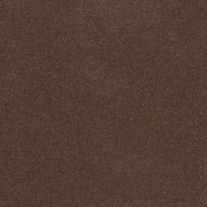 italian terriccio brown solid wool coating 307864 11