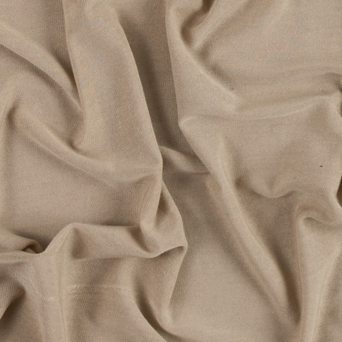 italian warm sand stretch viscose jersey 311660 11