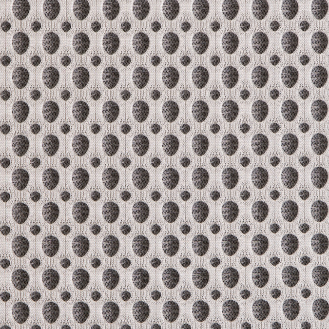 italian white black dimensional spacer mesh 309078 11