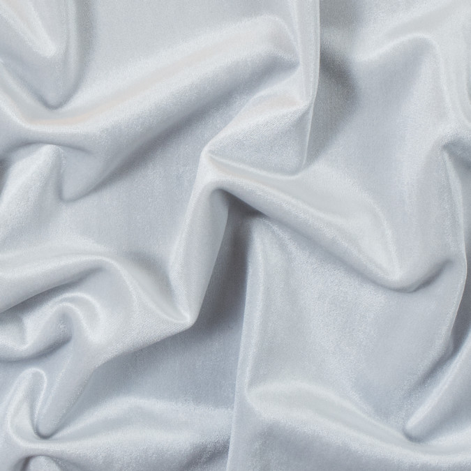 italian white heavy stretch velour with black backing 312601 11