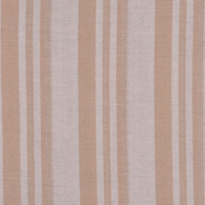 italy oatmeal and tan striped cotton suiting fc12994 11