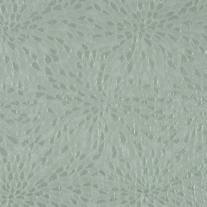 ivory and green classical metallic jacquard brocade 311131 11