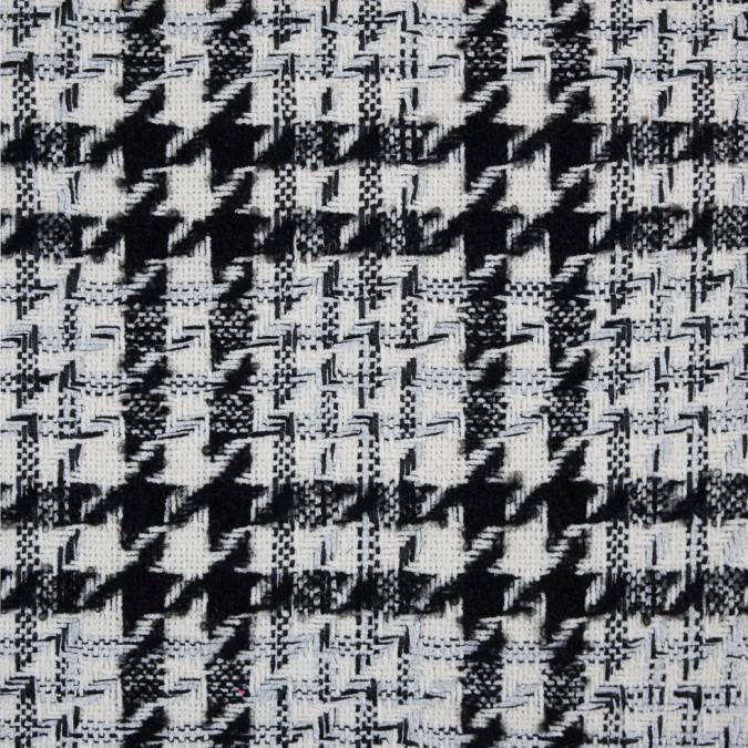 ivory black silver shepherd s plaid blended woven 310057 11