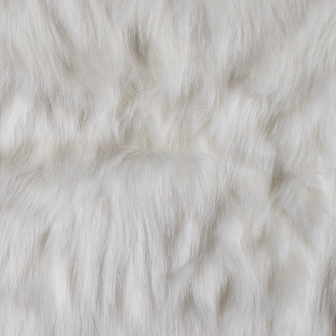 ivory faux luxury shag fur 312831 11