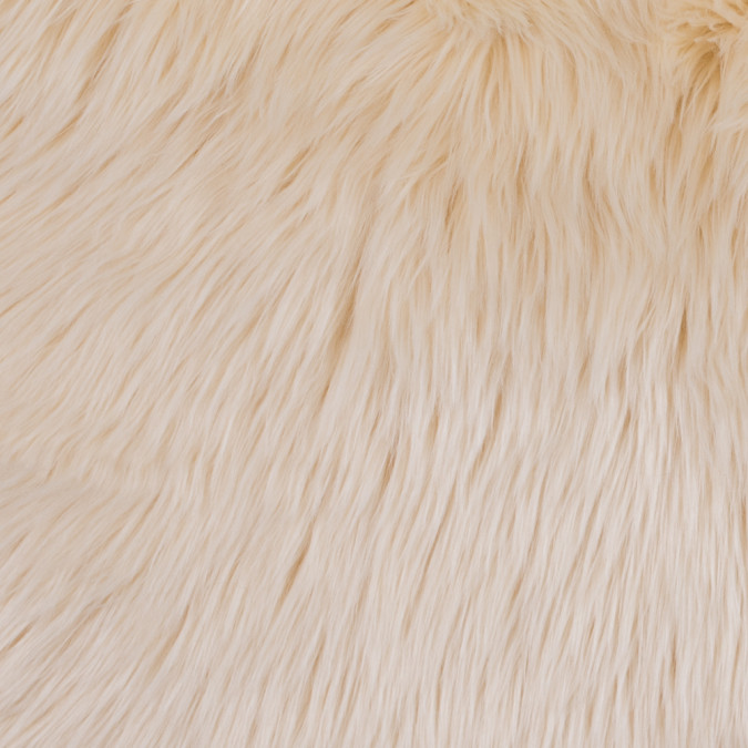 ivory long haired faux fur 116563 11