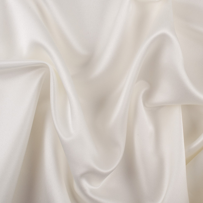 ivory solid polyester satin ms ivory 11