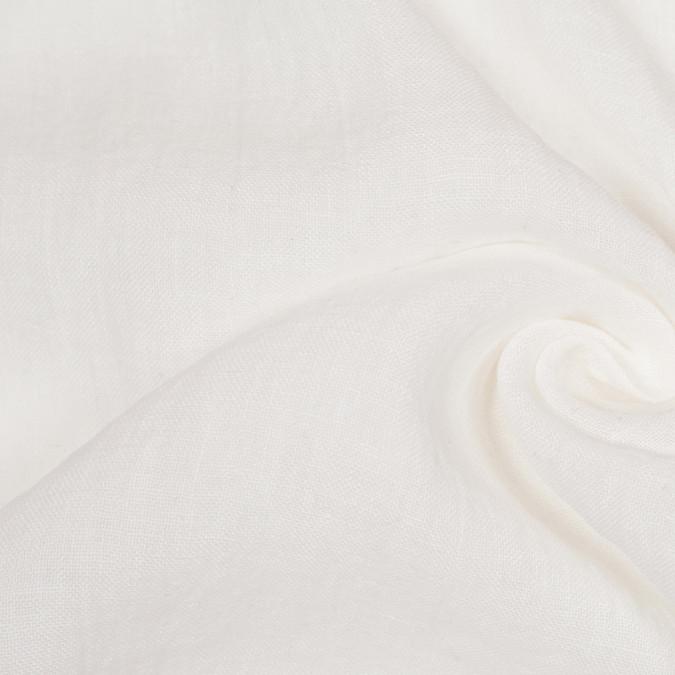 ivory solid sheer gauzy linen 107469 11