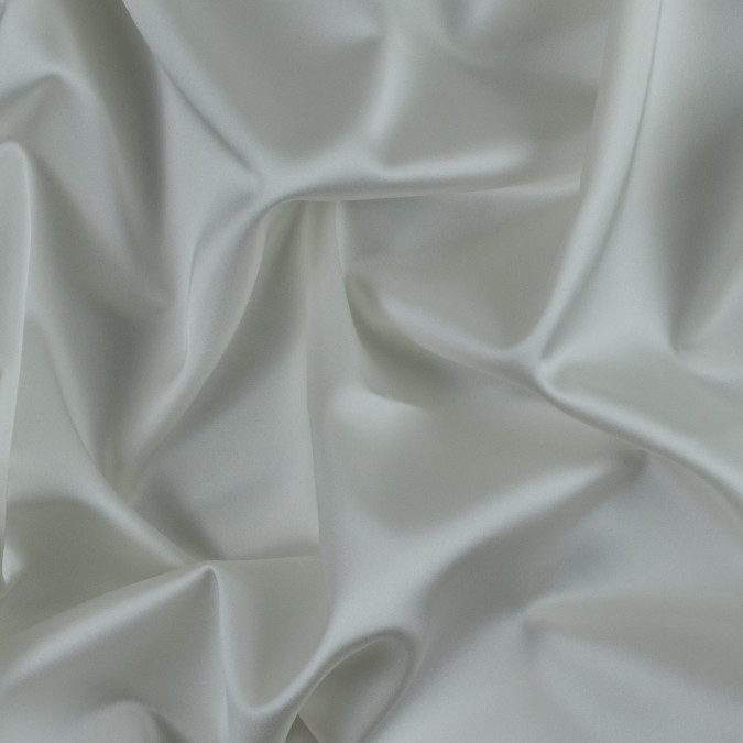 ivory stretch polyester satin 310997 11