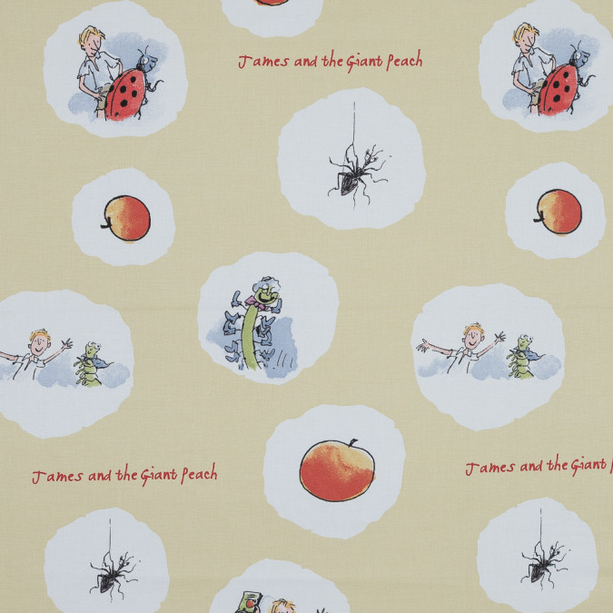 james and the giant peach printed cotton canvas awg1017 11