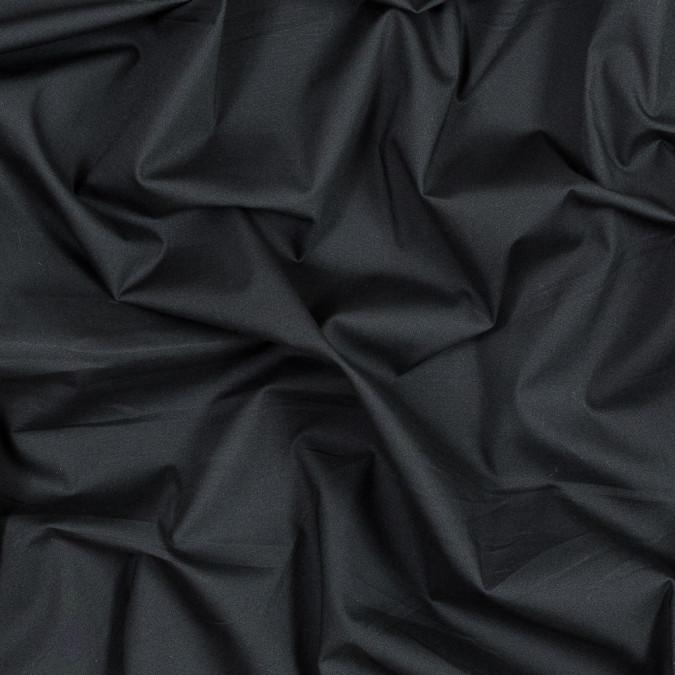 jet black stretch cotton poplin 316020 11