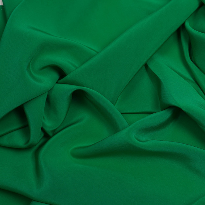 kelly green silk crepe de chine pv1200 197 11