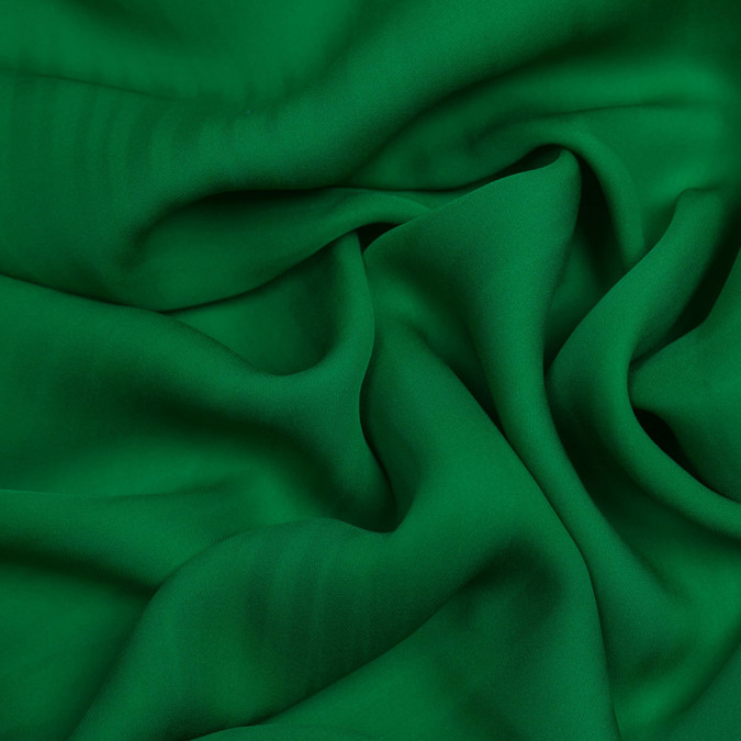 kelly green silk double georgette pv6000 197 11