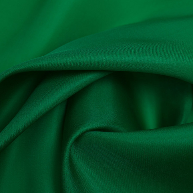 kelly green silk satin face organza pv4000 197 11
