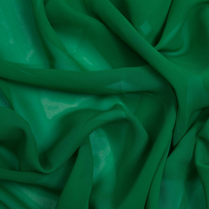 kelly green silk wide chiffon pv5012 197 11