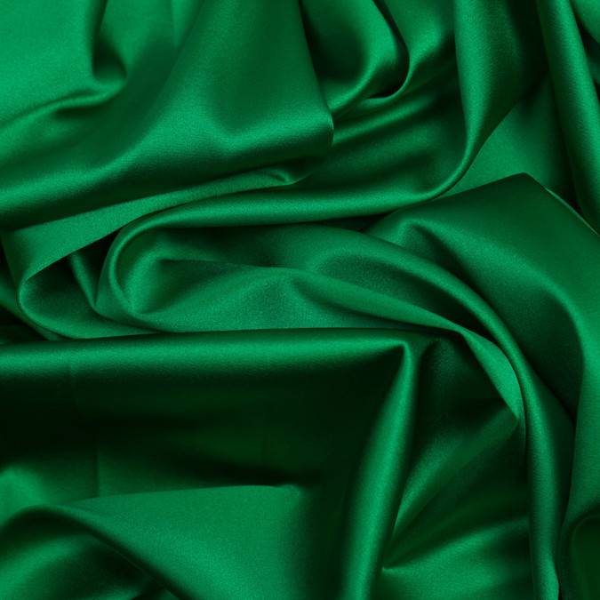 kelly green stretch silk charmeuse pv1500 197 11