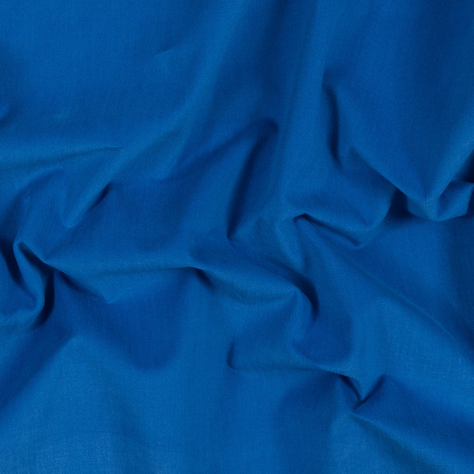 lapis blue brushed cotton twill 318963 11