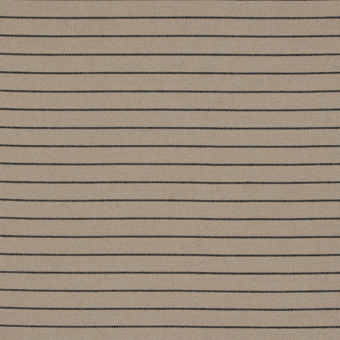 latte and black chalk striped silk woven 314542 11