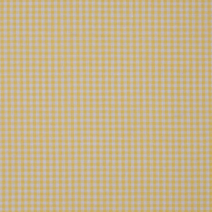 lemon drop and white cotton gingham 311876 11