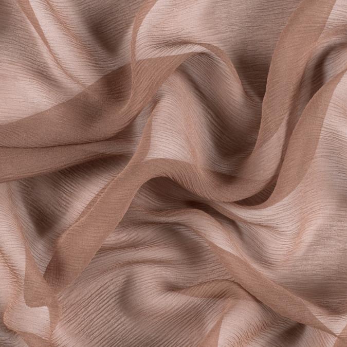 light brown silk crinkled chiffon pv5100 187 11