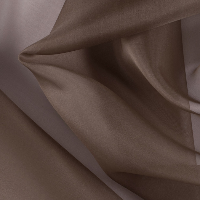 light brown silk organza pv3000 187 11