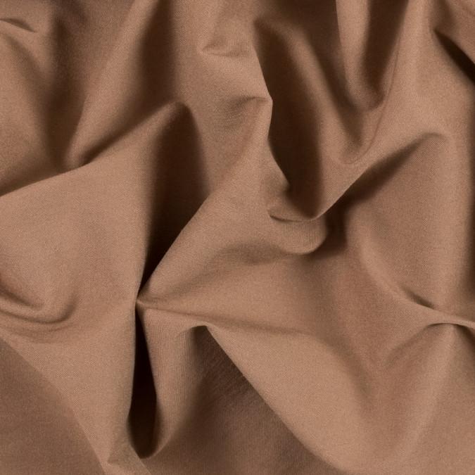 light brown stretch rayon twill 314946 11