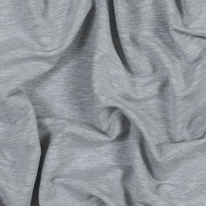 light gray bamboo and cotton stretch knit fleece 316120 11