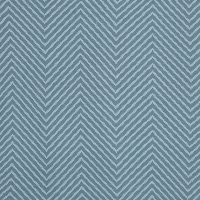light pond blue chevron burn out polyester chiffon 315963 11
