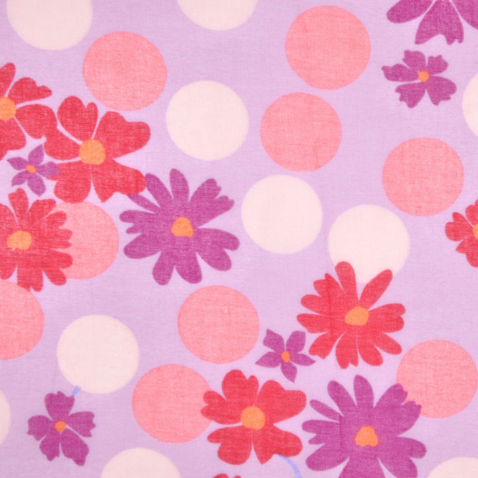 lilac and red floral cotton batiste fc12801 11