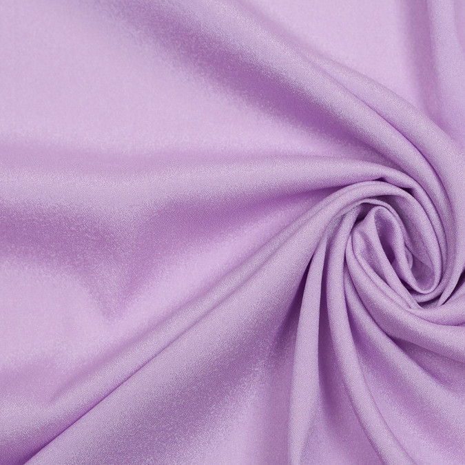 lilac mechanical stretch polyester crepe de chine 306643 11