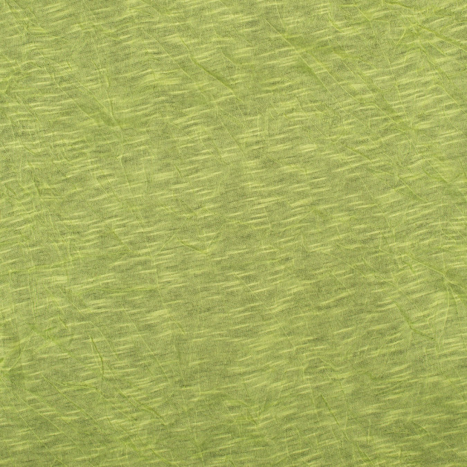 lime wrinkled lightweight polyester jersey 109102 11