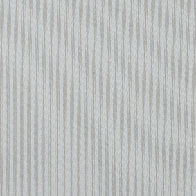 linen and white ticking striped cotton twill 118039 11