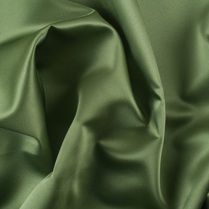 loden green solid polyester satin ms loden 11
