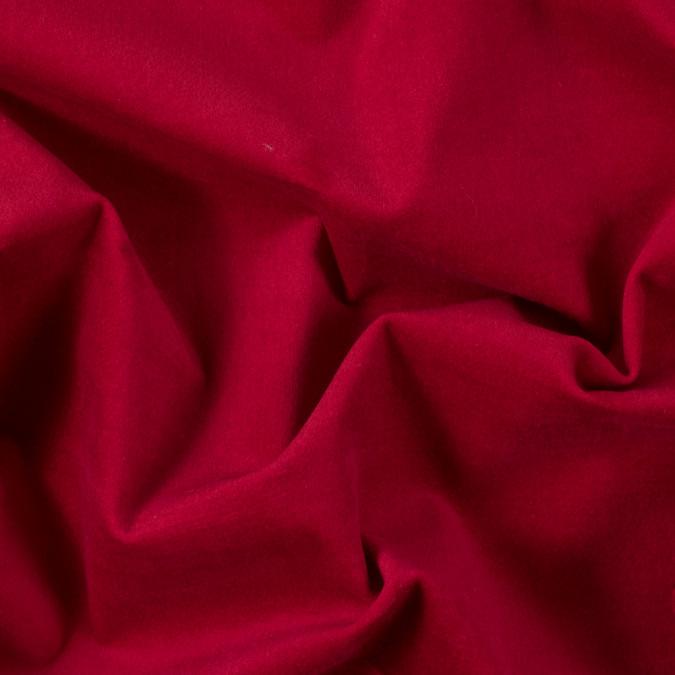 lolipop red stretch cotton velveteen 309030 11