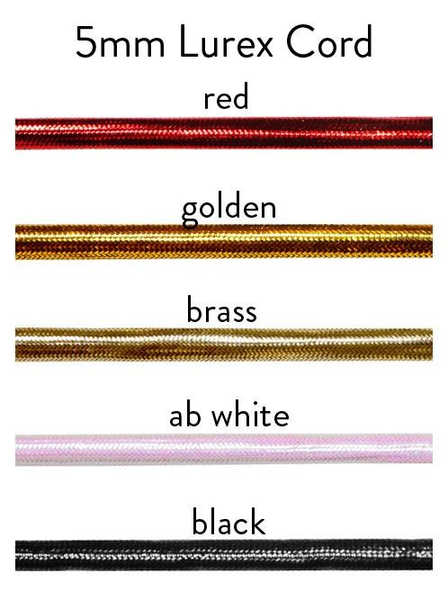 lurex cord 683 chart