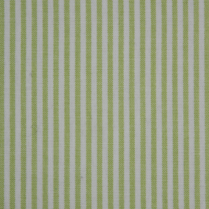 macaw green white candy striped cotton canvas 310586 11