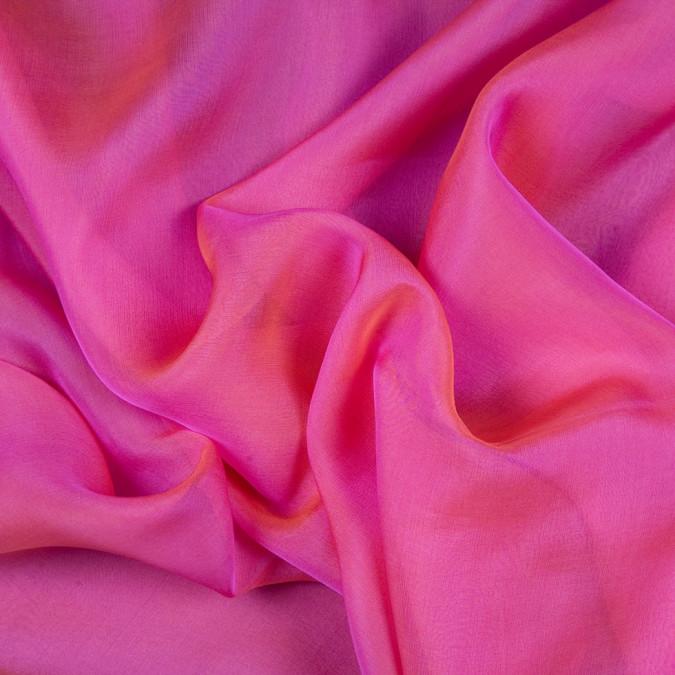 magenta pumpkin silk iridescent chiffon fsisc 18636 11