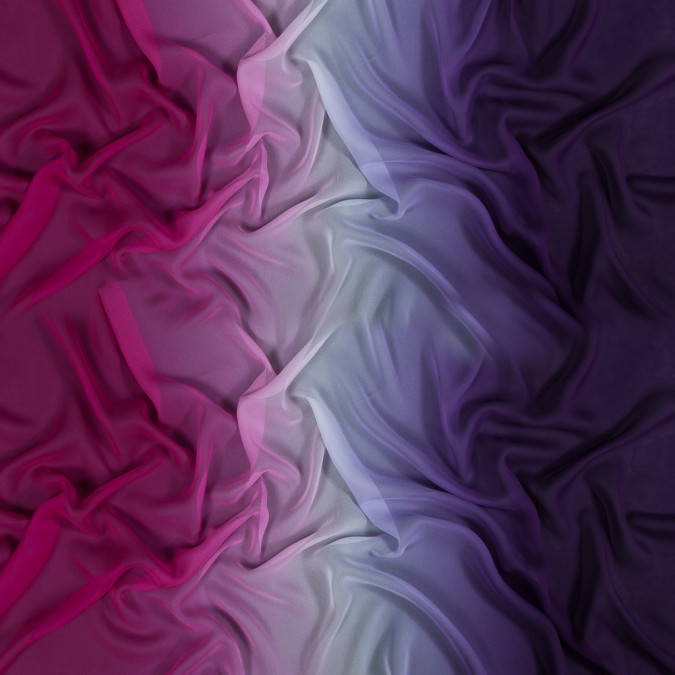 majesty purple and magenta haze ombre silk chiffon 318583 11
