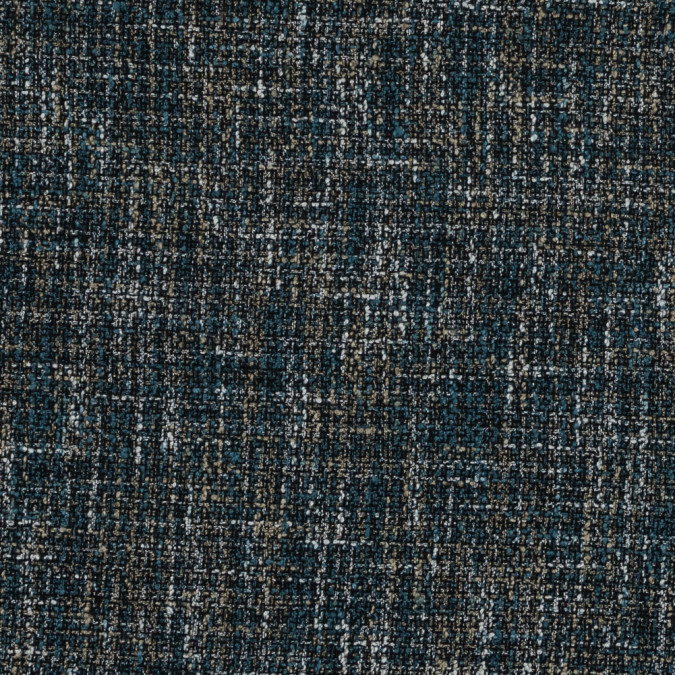 marine blue and beige polyester tweed 319705 11