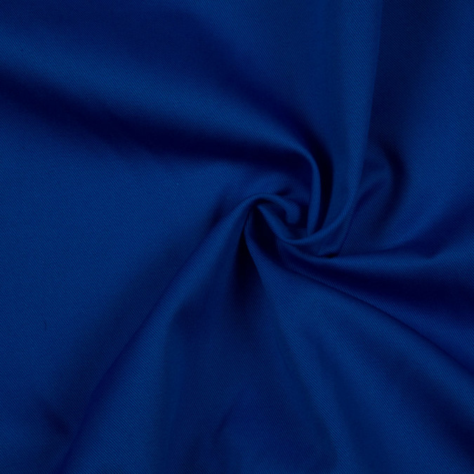 marine blue solid organic cotton twill fc8709 11