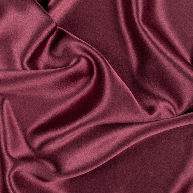 maroon silk crepe back satin pv8000 172 11