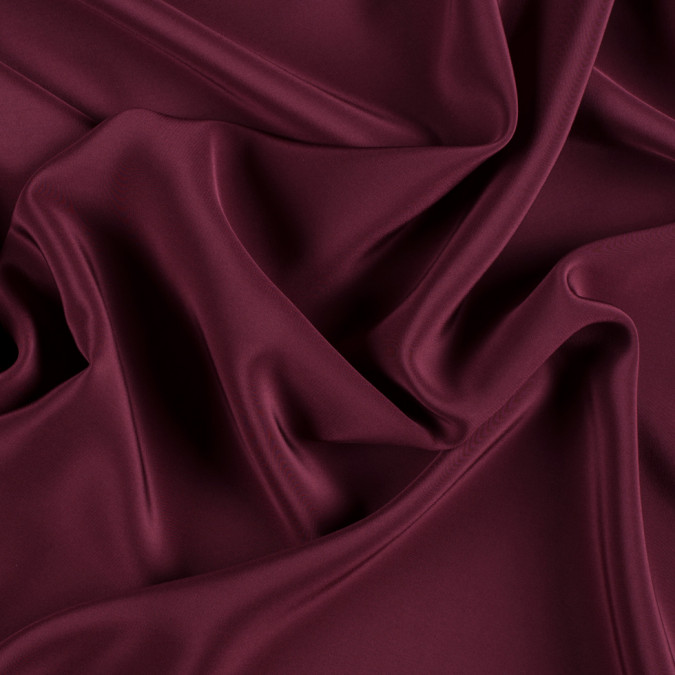 maroon silk crepe de chine pv1200 172 11