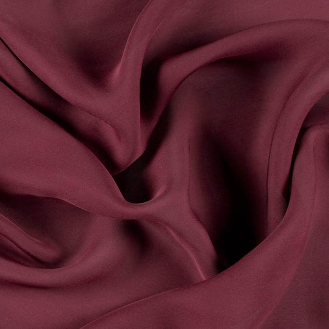 maroon silk double georgette pv6000 172 11