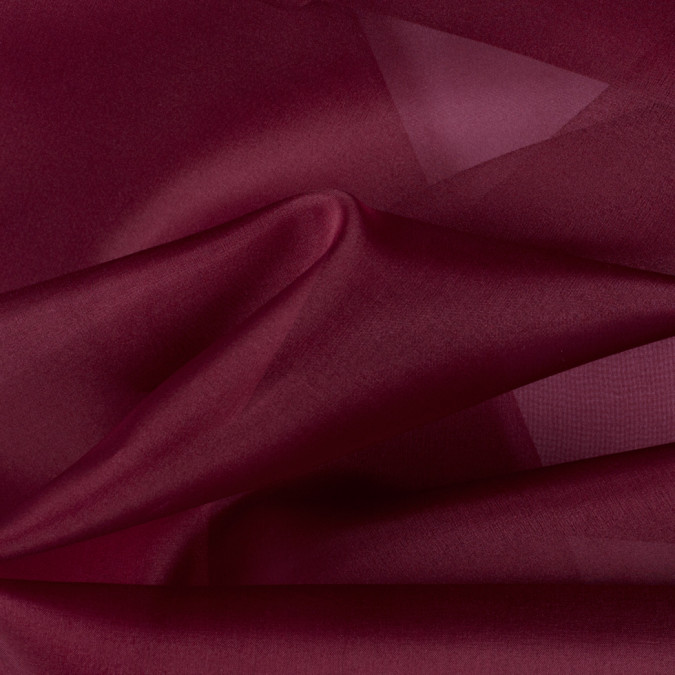 maroon silk organza pv3000 172 11