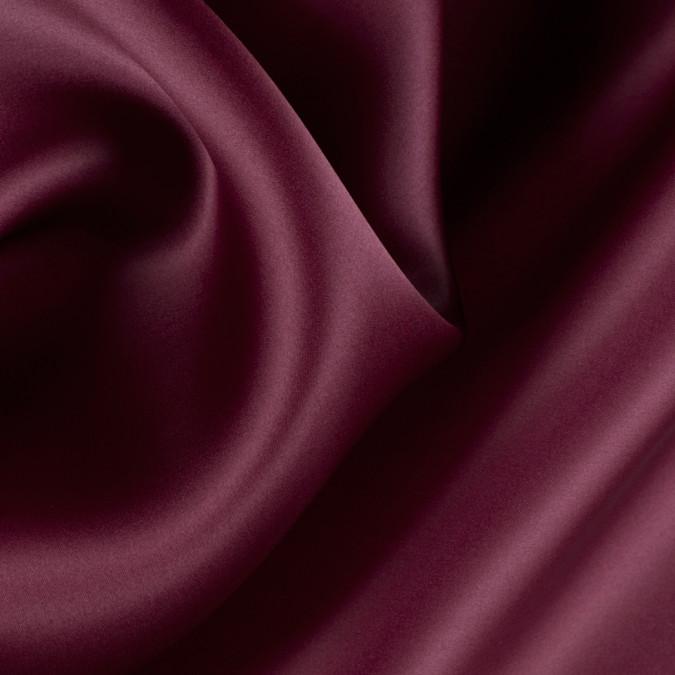 maroon silk satin face organza pv4000 172 11