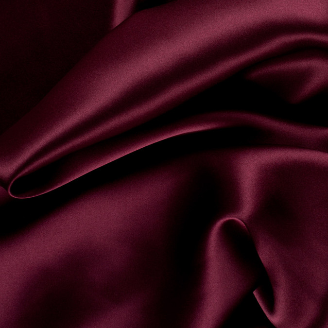 maroon stretch silk charmeuse pv1500 172 11