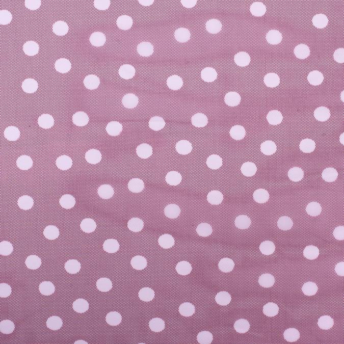 maroon white polka dot poly mesh 308207 11