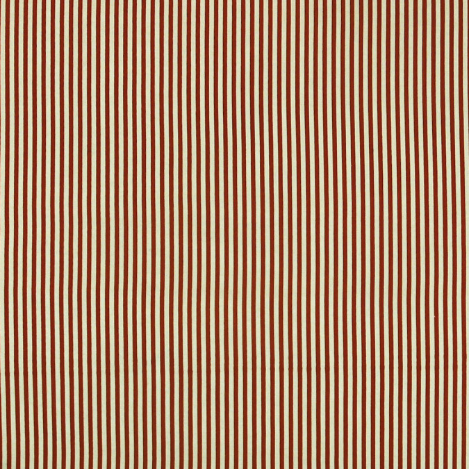 mars red white candy striped cotton voile 308264 11